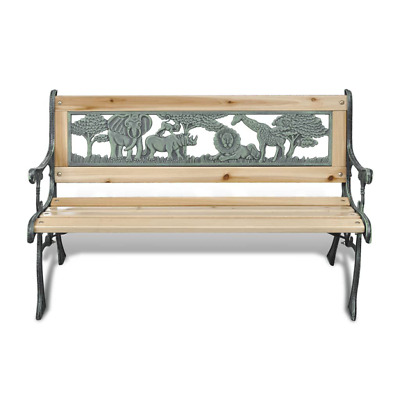 £47.69 • Buy Garden Bench Wooden Park Bench Seat Love Seat Patio Porch Seating Outdoor Furnit