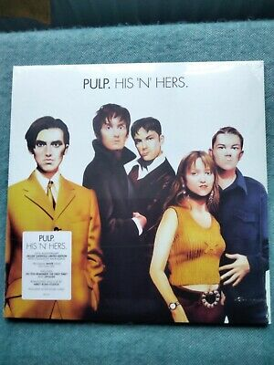 £60 • Buy Pulp - His 'N' Hers - 25th Anniversary White  2 X 180G Vinyl , OASIS, SEALED ,