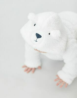 £5.15 • Buy Joules Baby Boys Cuddle Hooded Character Fleece  - White Bear - 12M-18M
