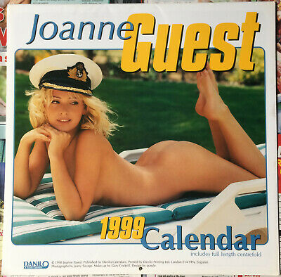 £27.99 • Buy JO GUEST OFFICIAL 1999 CALENDAR With CENTREFOLD POSTER Vintage Glamour NEW !