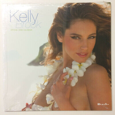 £29.99 • Buy KELLY BROOK OFFICIAL CALENDAR 2006 Vintage Glamour Pin Up Model ! BRAND NEW !