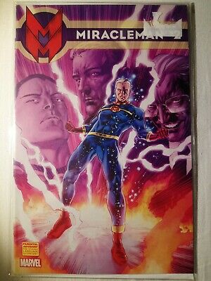 £5 • Buy MIRACLEMAN #2 VARIANT (2014) VF MARVEL COMICS Bagged N Boarded