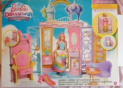 £23.99 • Buy Barbie Dreamtopia Castle Set, Colourful Playset With Accessories