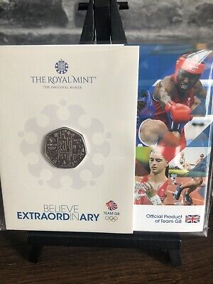 £11.99 • Buy 2021 Team GB 50p Fifty Pence Coin Royal Mint Bu Sealed Pack PRE ORDER