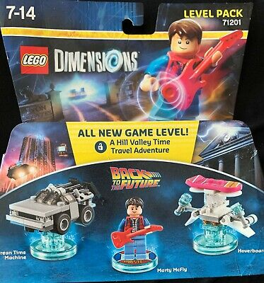 AU120 • Buy New Sealed LEGO Dimensions 71201 Back To The Future Level Pack
