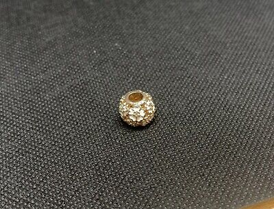 AU25 • Buy Authentic Pandora Rose Gold Plated Flower Charm