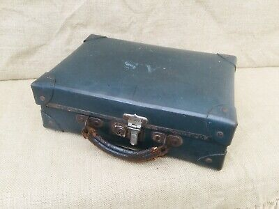 £29.50 • Buy Vintage Mid Century Small Suitcase / Luggage - Possibly Military