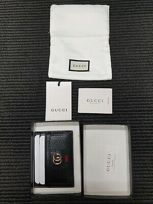 AU270 • Buy Genuine GUCCI Calfskin GG Ophidia Card Holder Made In Italy