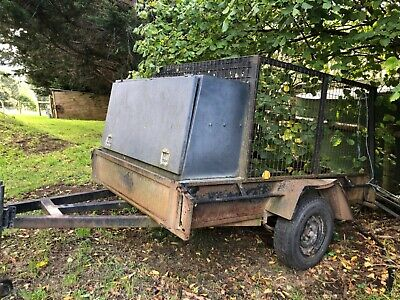 AU550 • Buy Used Cage Trailer With Toolbox