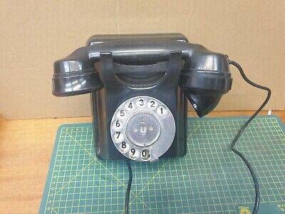 £4.99 • Buy Black Bakelite AT&E Co Wall Mounted Telephone L532602 Issue 2