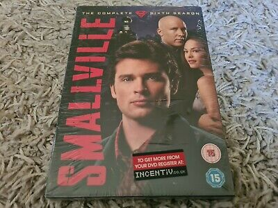£7.49 • Buy New & Sealed Smallville The Complete Sixth Season Dvd Series 6