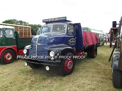£0.99 • Buy Classic Truck Lorry Photo 6 X4  Leyland Comet Flatbed Lorry Blx15