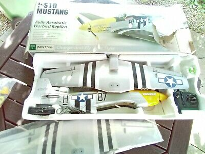 £120 • Buy Park Zone Ferocious Frankie Ready To Fly RTF P-51D Mustang  Plus Extras