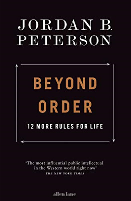 AU48.32 • Buy Jordan B. Peterson-Beyond Order: 12 More Rules For Life BOOKH NEW