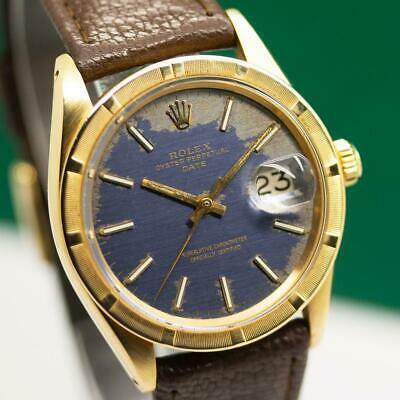$ CDN6068.89 • Buy 1966's ROLEX OYSTER DATE 1501 18K SOLID YELLOW GOLD AUTOMATIC MEN'S WATCH