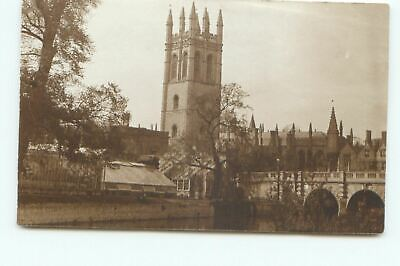 £3.99 • Buy Postcard Magdalen College Oxford RPPC Unposted GI