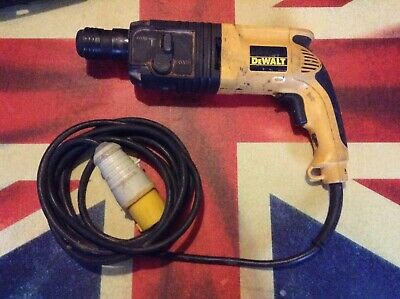 £99 • Buy DeWalt SDS 110v Impact BREAKER & DRILL With Case Ideal Site Or DIY Fully Working