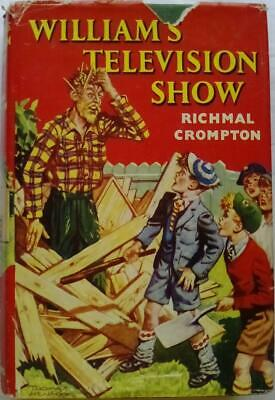£17.99 • Buy William's Television Show By Richmal Crompton.  First Edition.