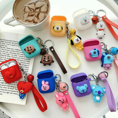 AU10.99 • Buy For Apple Airpods Pro 1st & 2nd 3D Cute Charging Earphone Silicone Cover Case