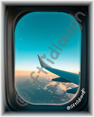£4.99 • Buy Lift Lid Laugh Toilet Humour A4 Stickers Funny Gift Plane Window