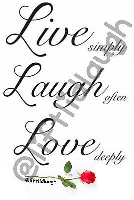 £4.99 • Buy Lift Lid Laugh Toilet Humour A4 Stickers Funny Gift Live Laugh Love