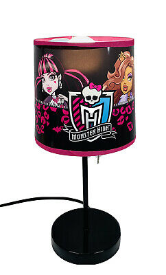 £14.41 • Buy Monster High Bedroom Table Lamp Decoration Decor Frankie Cleo Draculaura Abbey
