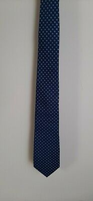 £5 • Buy Ted Baker Knotted Silk Tie Navy Blue