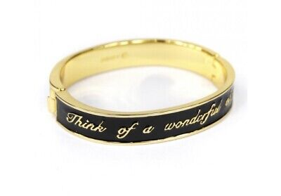 £10 • Buy Disney Couture Hinged Bangle 'think Of A Wonderful Thought'