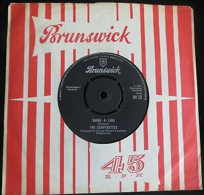 £29 • Buy THE COOPERETTES - Shing-A-Ling - Vintage Northern Soul Classic, Listen !