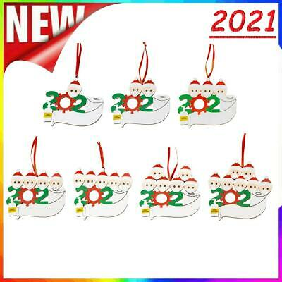 £2.24 • Buy DIY Name Christmas Tree Pendant Wooden Home Desk Ornament Party Decoration