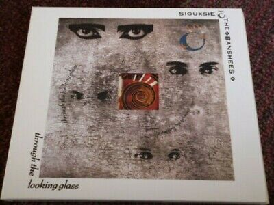 £50 • Buy SIOUXSIE AND THE BANSHEES. THROUGH THE LOOKING GLASS + 4 X BONUS TRACKS. SEALED.