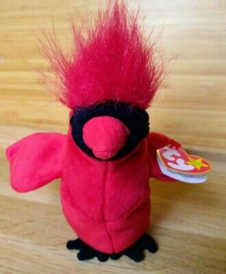 $300 • Buy TY Beanie Baby MAC The Cardinal Toy With Tag Errors