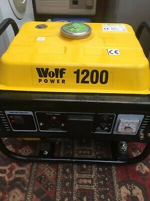 £60 • Buy Wolf Power Wp1200 Generator. Good Condition Not Used Much At All So I,ve Dicided