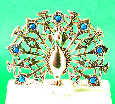 £16.65 • Buy Miniature Two-Piece Art Deco Set - Peacock Fire Screen And Peacock Cameo