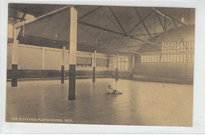 £1.95 • Buy Boy In Covered Playground Mostyn House School Parkgate Wirral Cheshire Mar 1918