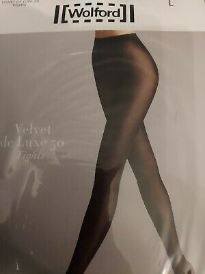 £5.50 • Buy Wolford Velvet De Luxe 50 Tights Opaque Tights, Large