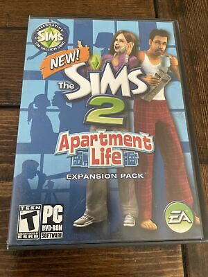 £14.41 • Buy The Sims 2 Apartment Life (PC DVD-Rom, 2008) Complete Game W/ Key Code