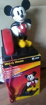£43.11 • Buy AT&T Disney Mickey Mouse Phone USED
