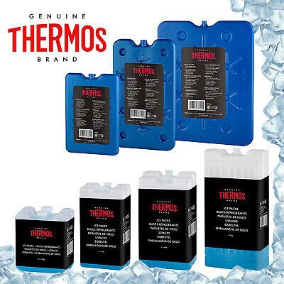 £5.25 • Buy Thermos Cool Bag Box Freeze Board Ice Pack Cooler Freezer Blocks 200g 400g 800g
