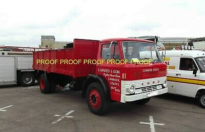 £0.99 • Buy Classic Truck Lorry Photo 6 X4  Ford D Series Tipper Lorry GDS14