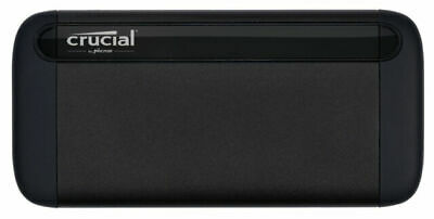 AU106.90 • Buy Crucial X8 1TB Portable SSD - Up To 1050 MB/s - USB 3.2 - External Solid State D