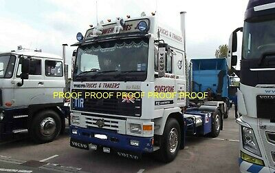 £0.99 • Buy Classic Truck Lorry Photo 6 X4  Volvo F12 Tractor Unit GDS14 D
