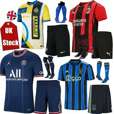 £13.99 • Buy Latest Kids Adult Boy Football Youth Full Kit Soccer Shirt Outfit Training Set *