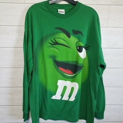 $16 • Buy M&M's Candy Long Sleeve Graphic Shirt Size XL Unisex