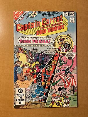 $39.97 • Buy Captain Carrot And His Amazing Zoo Crew #9 DC Masters Of The Universe Preview