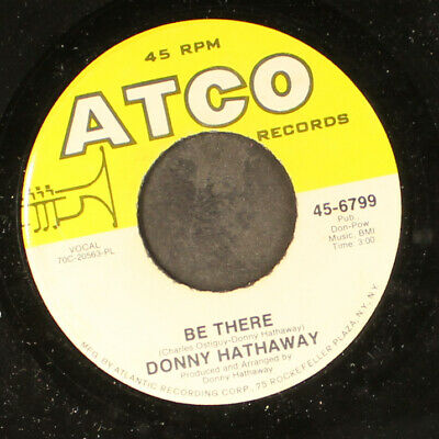 £4.37 • Buy DONNY HATHAWAY: This Christmas / Be There ATCO 7  Single 45 RPM
