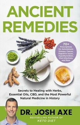 £14.90 • Buy Ancient Remedies: Secrets To Healing With Herbs, Essential Oils, CBD,and The Mos