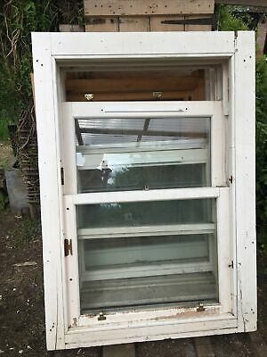 £175 • Buy 1 Hardwood Timber Sash Window 1416cm By 999mm By 184mm  Double Glazed