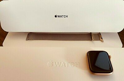 AU51 • Buy Apple Watch Series 6 GPS 44mm Aluminium Gold With Matching Milanese Loop