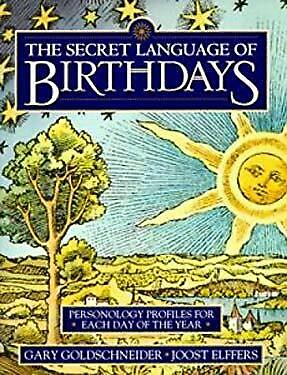 £7.17 • Buy Secret Language Of Birthdays : Personology Profiles For Each Day Of The Year